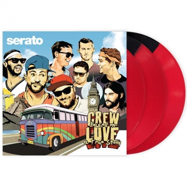 "Serato SCV-SP-038-CL   Vinilo de Control para Serato DJ Y Scratch 12"" Crew Based on Love a True Story"