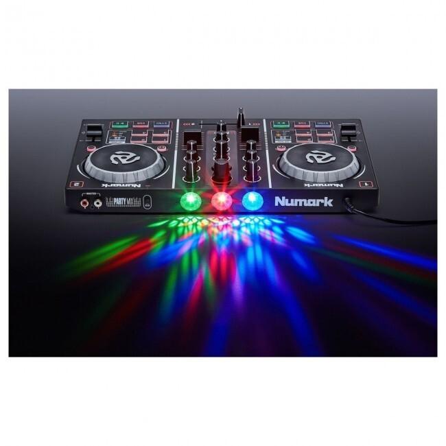 Numark PARTYMIX   Controlador Dj Consola Mixer Con Luces