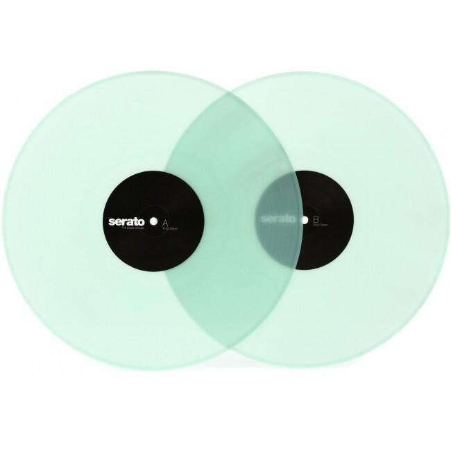 "Serato SCV-PS-GID-OV   Vinilo de Control para Serato DJ Y Scratch Live de 12"" Transparente"