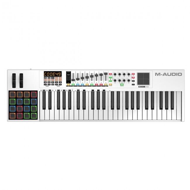 M-Audio CODE49 | Controlador MIDI/USB de 49 teclas