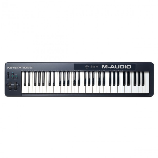 M-Audio KEYSTATION61II | Controlador USB/MIDI de 61 Teclas