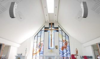 RCF HDL 6-A mejora el sonido de las iglesias