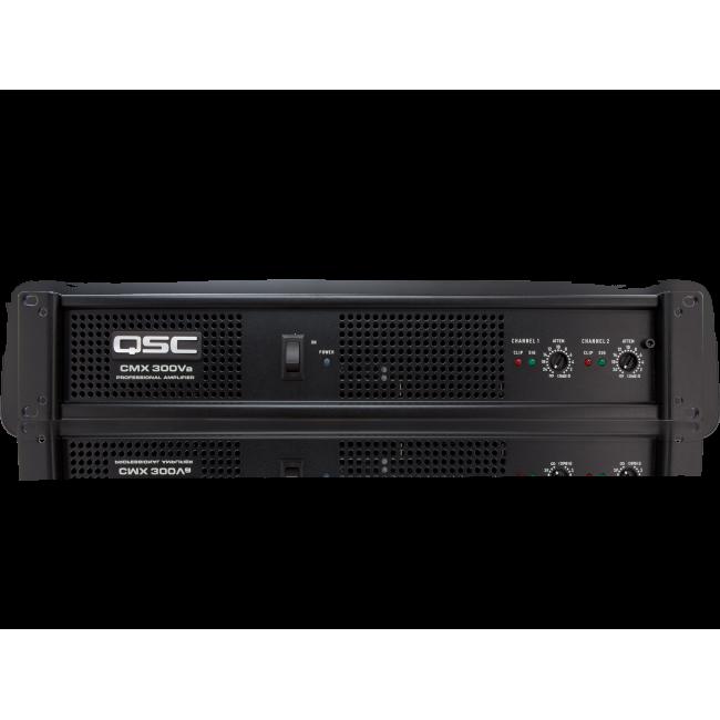 QSC CMX300Va | Amplificador 600W/4 Ohms.