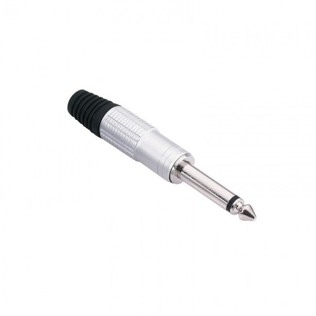 ADAM HALL 7514 | Conector aéreo Jack 6,3 mm mono plata