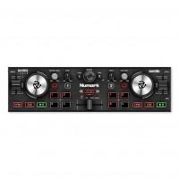 NUMARK DJ2GO2TOUCH | Controlador de DJ de Bolsillo con Ruedas de Desplazamiento Táctiles Capacitivas