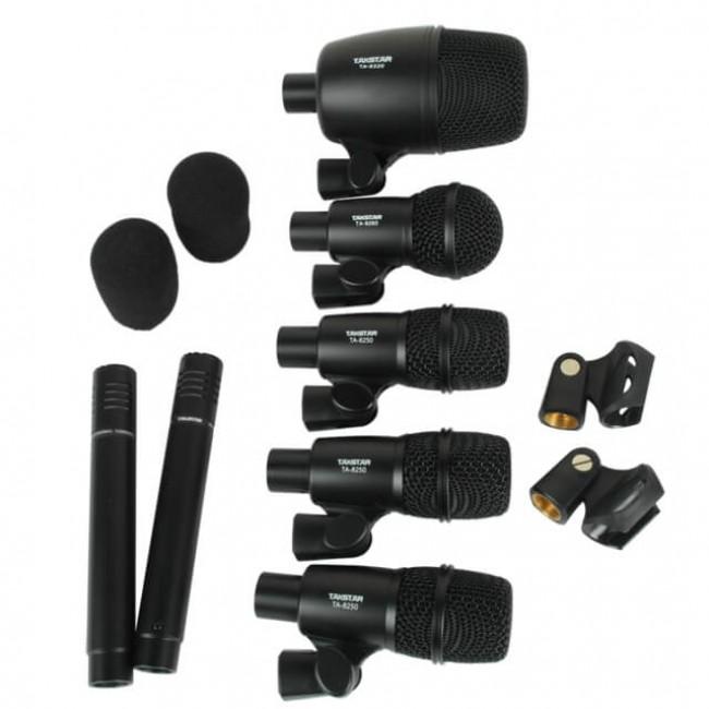 Takstar DMS-7AS   Set de 7 Micrófonos para batería