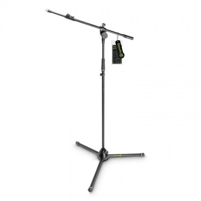 Gravity GMS4322B | Pie de micrófono con trípode y brazo jirafa