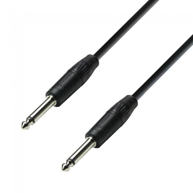Adam Hall K3S215PP0150   Cable de Altavoz 2 x 1,5 mm² de Jack 6,3 mm mono a Jack 6,3 mm mono 1,5 m