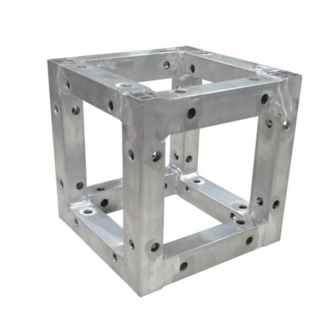 Lion Support LT-K1260 | Cubo Adaptador a 90º para Estructura de 30cm x 30cm x 30cm