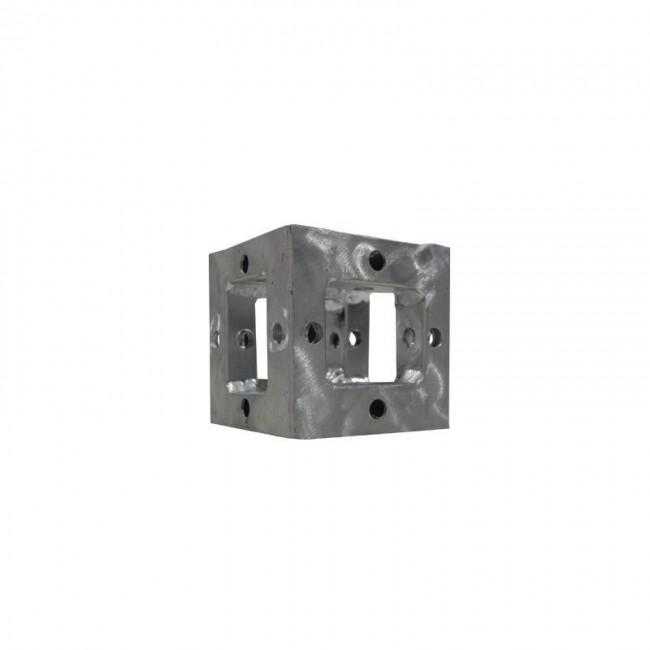 Lion Support LT-K560 | Cubo Adapador a 90º de 10cm x 10cm x 10cm