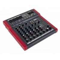 PROEL MQ10FX | Mezclador Compacto de 10 Canales con FX