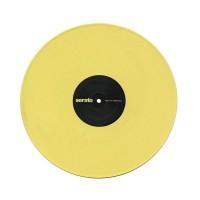 Serato SCV-PT-YLW-VL | Vinilo de Control de Tiempo Serato DJ Pastel Series Amarillo