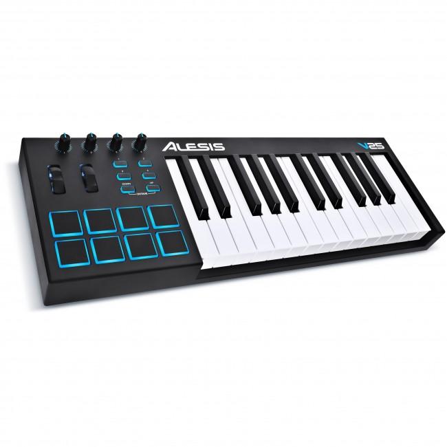 Alesis V25 | Controlador de Teclado USB-MIDI de 25 Teclas