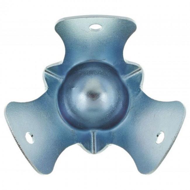 ADAM HALL 4115 | Esquinero bolita chico 3 puntas para anvil