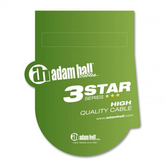 Adam Hall K3BVV0300 | Cable de conector Plug Stereo a Plug Stereo de 3 metros de largo