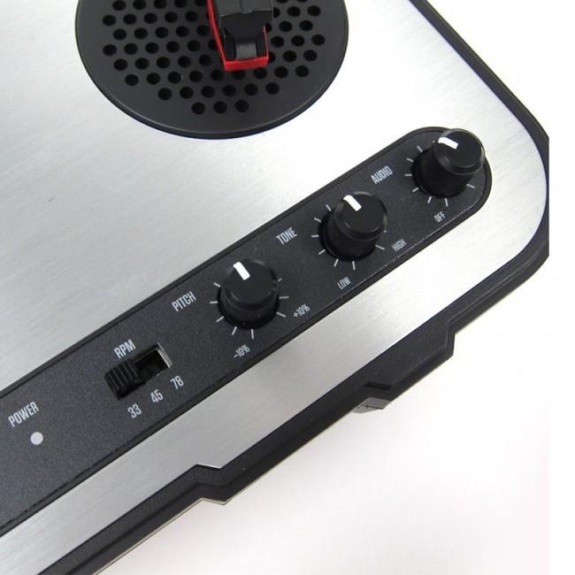 NUMARK PT01USB | Bandeja giradiscos USB con parlante incluido