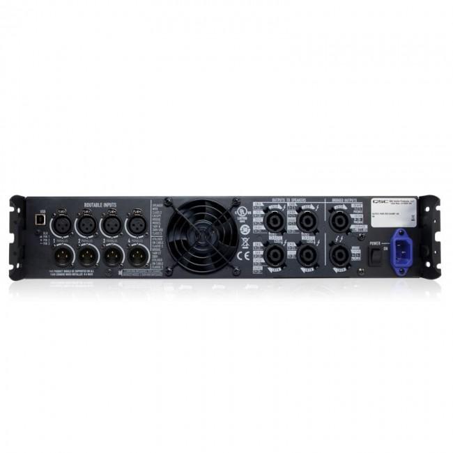 QSC PLD4.5   Amplificador de 4 canales de 2000w de potencia con DSP en cada canal Clase D